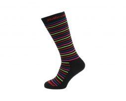 Blizzard Viva Allround Ski socks black-rainbow stripes