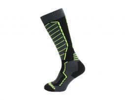 Profi Ski socks Blizzard black-anthracit-yellow