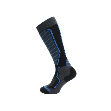 Ski socks Blizzard black-anthracit-blue