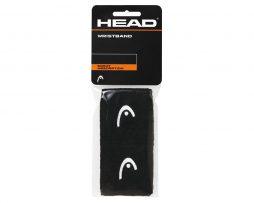"""Περικάρπια Head Wristbands 2.5"""" μαύρο"""