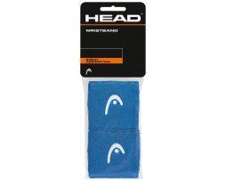 """Περικάρπια Head Wristbands 2.5"""" Μπλε"""
