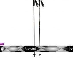 Blizzard ski poles viva Sport black