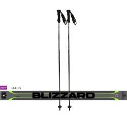 Blizzard ski poles All mountain green